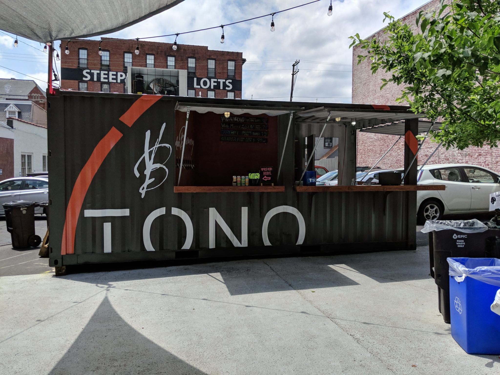 TONO Group Shipping Container Bar