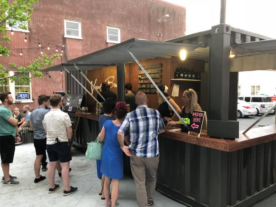 Container Bar, July 2018